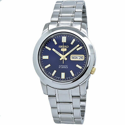 Seiko 5 Automatic SNKK11J1 Blue Dial Stainless Steel Men's Watch