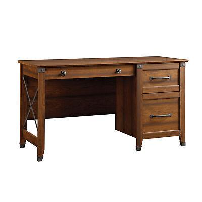 Carson Forge Desk in Washington Cherry by Sauder
