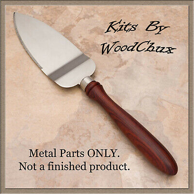 Pie Knife Server Kit Stainless Steel Woodturning Lathe Project Fast Shipping (Pie Server)