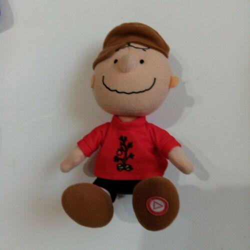 Hallmark Charlie Brown Plush Peanuts Christmas Talking musical