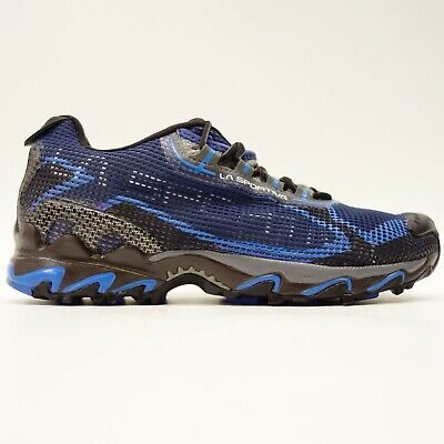 Gebraucht, La Sportiva Wildkatze US 9,5 Eu 42,5 Blau Athletic Traillauf Herren Schuhe gebraucht kaufen  Versand nach Germany