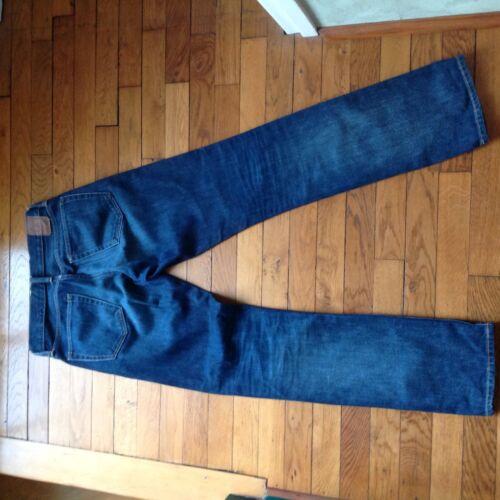 Jean indigo straight gap taille 28x32