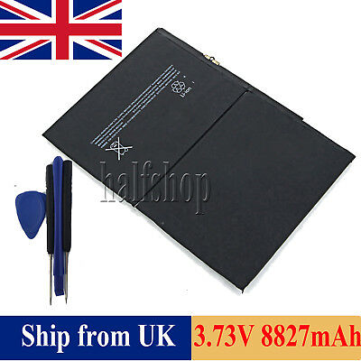 For Apple Ipad Air 1st A1484 A1474 A1457 Battery 8827mah Replacement With Tools 0
