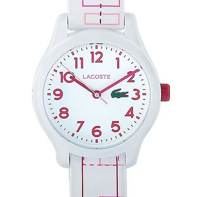 Lacoste Lacoste 12.12 White and Pink Stainless Steel Watch 2030009