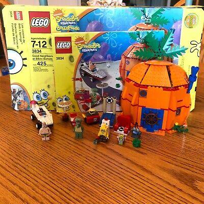 LEGO Spongebob Set 3834: Good Neighbors at Bikini Bottom 100% Complete