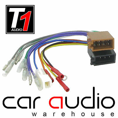 PC2-36-6 Female ISO to Bullet End Car Stereo Radio Harness Adaptor Wire Lead