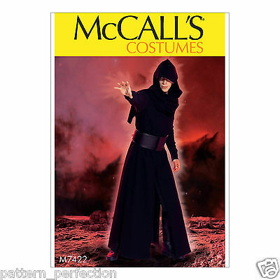 McCall's 7422 Sewing Pattern to MAKE Star Wars Kylo Ren Jedi Knight - Make Star Wars Costume