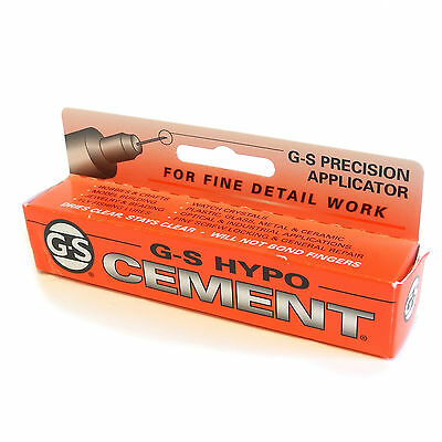 Jewellers G-S Hypo Cement Clear glue for watch glass beads pearls findings HA11*