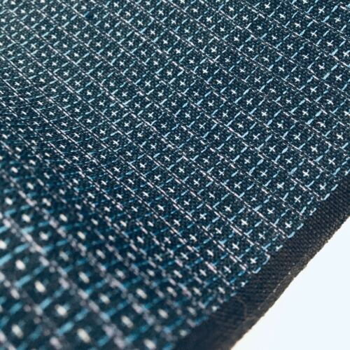 Beehive #B 15x44 Tsumugi Silk Japanese Kimono Fabric Panel Authentic TD3