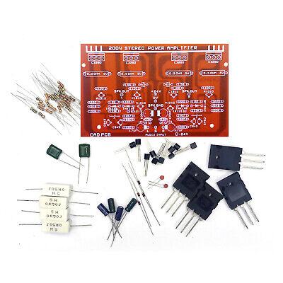 C3280 Transistor Stereo Power Amplifier Assemble Kit 200w
