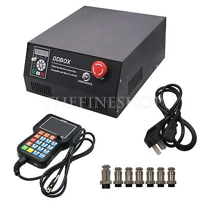 4 Axis Cnc Motion Controller Ddboxpendant For Engraving Machine Mach3 220v