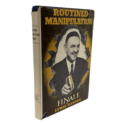 Routined Manipulation Finale CLOSE UP MAGIC by Lewis Ganson CARD MAGIC