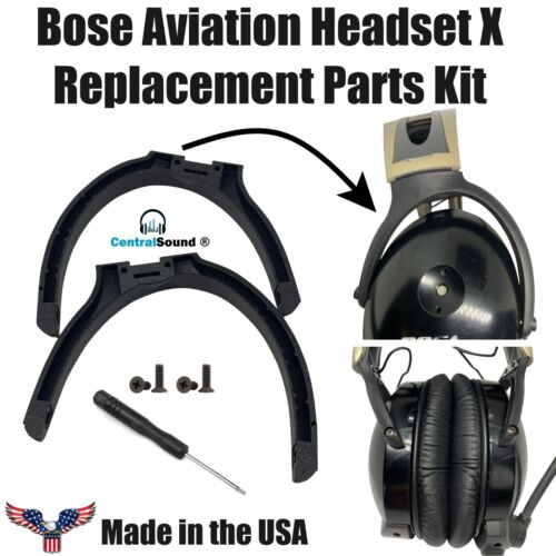 Bose X Aviation Headset Yokes Bails Stirrups Wishbones Replacement Parts Kit