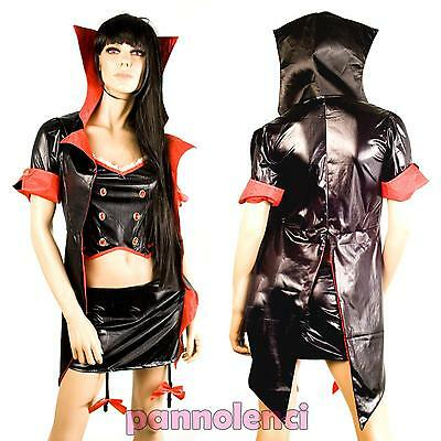 Disfraz de Carnaval Reina Vampiro Vampira Mujer Halloween Ci-227