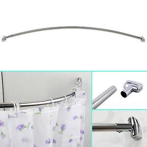 Estensibile telescopica curvo binario bagno tenda doccia - Asta tenda doccia ...