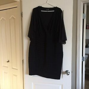 Plus size 20 black dress in Beaumont
