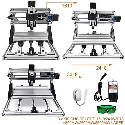 3 Axis Cnc Router Kit 161024183018 500mw2500mw5500mw Laser Engraver Diy