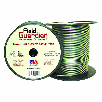 Field Guardian 15 Ga Aluminum Wire 14 Mile Electric Fence Af1525 814421012524