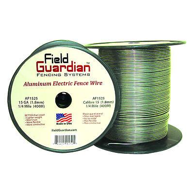 Field Guardian 15 Ga Aluminum Wire 14 Mile Electric Fence Af1525 814421012524