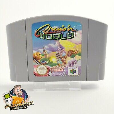 "Nintendo 64 Spiel "" Cruisn World "" N64   Modul Cartridge   PAL EUR Cruis´n World"