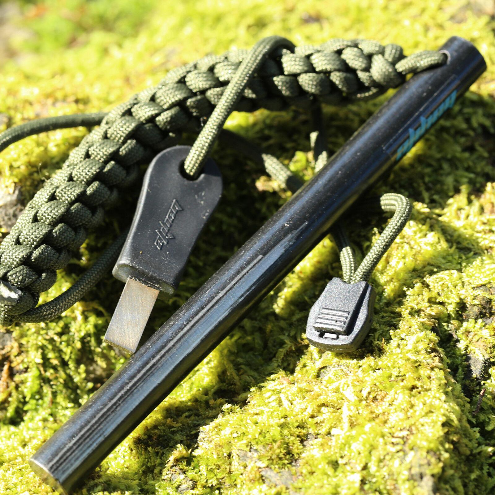 1/2 x 6 Inch Big Survival Misch Metal Steel Ferro Rod Flint