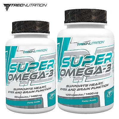 SUPER OMEGA-3 60-180 Caps EPA DHA Deep Sea Fresh Fish Oil Best 1000 mg Softgels