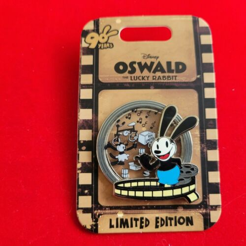Disney Pin LE 3750 Oswald The Lucky Rabbit 90th Anniversary Box Lunches