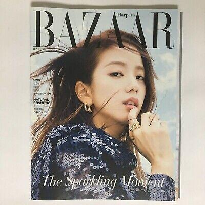 BLACKPINK JISOO LISA Cuttings 12P+Cover Magazine Clippings BAZAAR JUN 2019 K-POP
