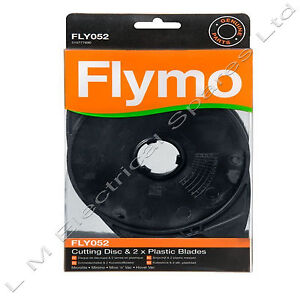 Flymo Cutting Disc & 2 Blades FLY052 Hover Vac & Hovervac Dual HV2800 HV28