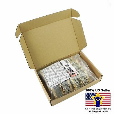 100value 1000pcs 12w Carbon Film Resistor Assortment Kit Us Seller Kitb0126
