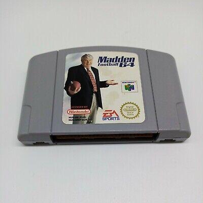 Madden Football 64 - Cart Only - Nintendo 64 - N64