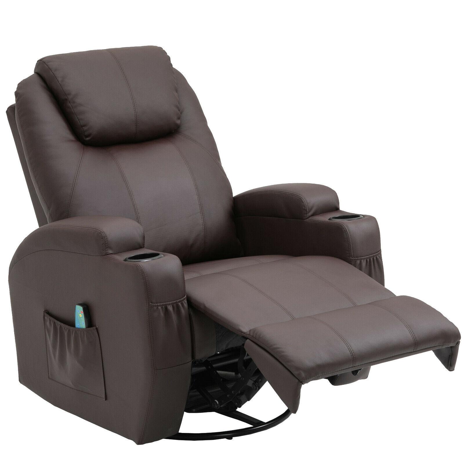 Relaxsessel Fernsehsessel Massagesessel TV Sessel Polstersesse 360°Wärmefunktion