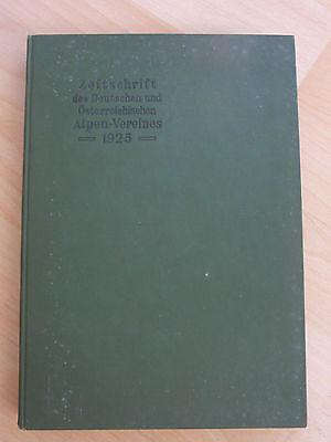 Zeitschrift des deutschen und österreichischen Alpen-Vereins von 1925