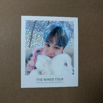 [Official] The Wings Tour Trilogy Ticket Polaroid Photocard [JIMIN]