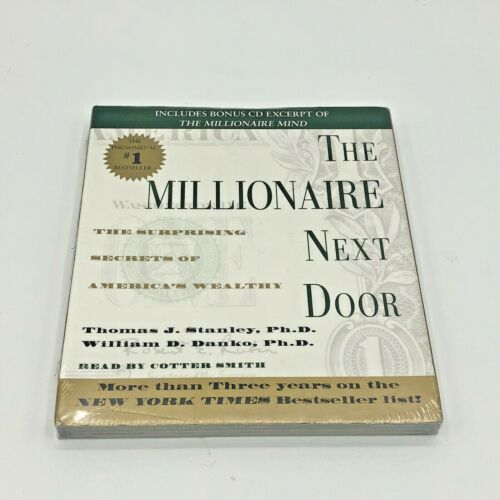 The Millionaire Next Door:The Surprising Secrets of Americas Wealthy CD Sealed