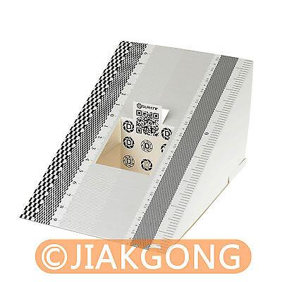 6pcs/Lot DSLRKIT Lens Focus Calibration Tool Alignment Ruler Folding Card