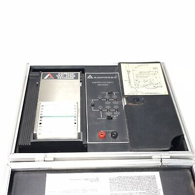 Amprobe Model Law82-t Vari-speed Recorder Ampereskilowatt Recorder