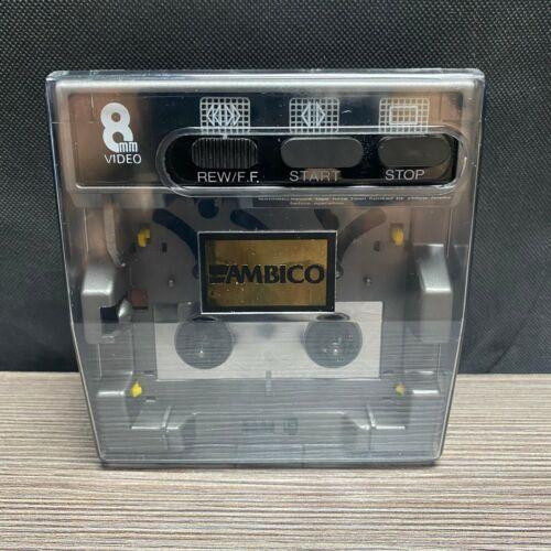 Ambico 8mm Rewinder Fast Forward 2-Way NO AC ADAPTER INCLUDED Hi8 Rewinder