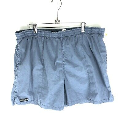Columbia Running Shorts (Columbia Mens Hiking Shorts XL Blue Packable Running Gym)