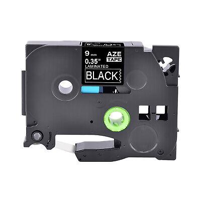 White On Black 38 Tz Tze 325 Label Tape Fit For Brother P-touch Pt-d210 P750w