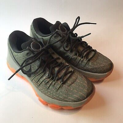 Nike Air Max KD 8 Mens Shoes Green Orange Size 8 Running Athletic Basketball