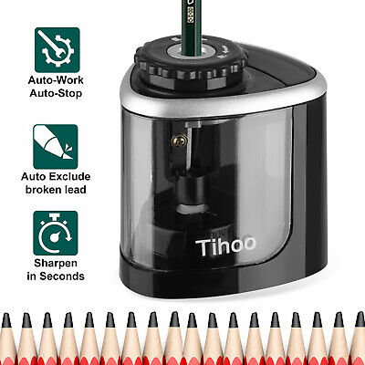 Automatic Electric Touch Switch Pencil Sharpener Home Office Classroom Tools