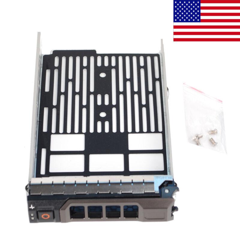 "For Dell 3.5"" KG1CH SATA SAS Hotplug Hard Drive Tray Caddy R730 R530 T430 T630"
