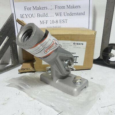 Goldblatt 2 Hole Adjustable Concrete Bull Float Bracket For Threaded Handles