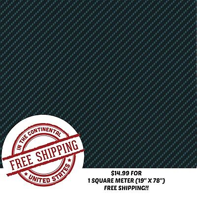 Hydrographic Water Transfer Hydro Dip Carbon Fiber 17 Film 1sq 19 X 78