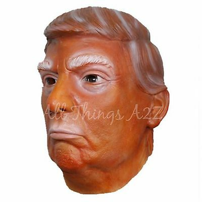 Donald Trump Mask Halloween President Political Costume Funny Clinton Womanizer](Halloween Costumes Political Funny)