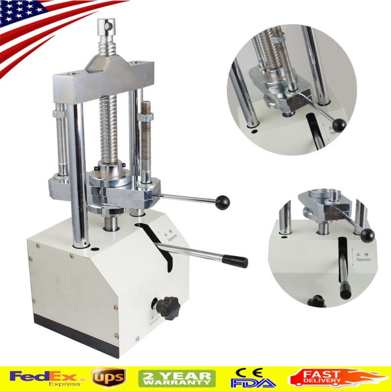 Dentist Dental Laboratory Hydraulic Press flask Presser Flask Pressure Machine