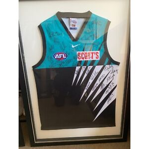 Port Adelaide signed by the full team jersey