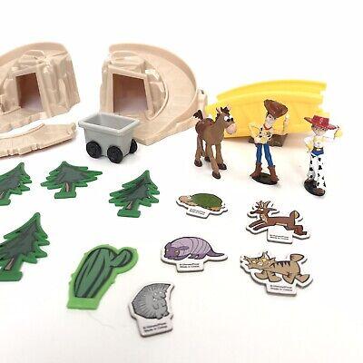 Jessie Toy Story Accessories (Disney Pixar Toy Story Town Wagon Playset Woody Jessie Bullseye Accessories)