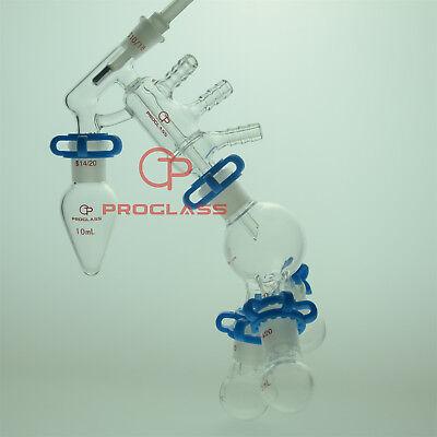 Proglass Chemistry Lab Glassware Distillation Kit 1420 Distilling Apparatus